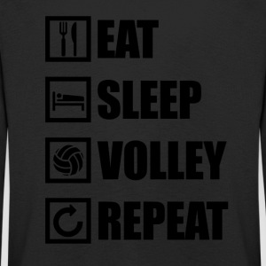 EAT SLEEP VOLLEY REPEAT - Kids' Premium Longsleeve Shirt