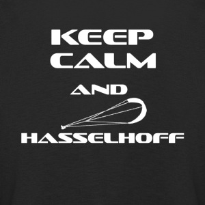 KITESURFING KEEP CALM AND HASSELHOFF - Kinder Premium Langarmshirt