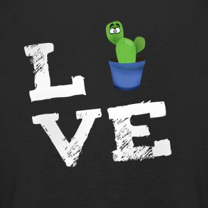 Love cactus beard spine comic humor fun big lol - Kids' Premium Longsleeve Shirt