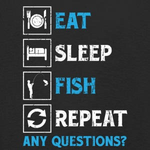 Fishing! Fishing! funny! repeat! - Kids' Premium Longsleeve Shirt