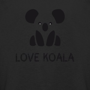 Koala bear Save Symbol cute black and white hipster - Kids' Premium Longsleeve Shirt