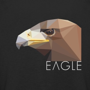 Eagle head proud Waffentier fly bird big eag - Kids' Premium Longsleeve Shirt