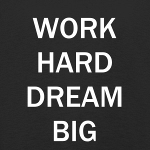 WORK HARD DREAM BIG - Premium langermet T-skjorte for barn
