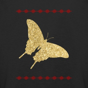 Golden Butterfly skjorte - Premium langermet T-skjorte for barn