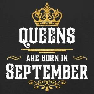 Queens Born september - Kinderen Premium shirt met lange mouwen