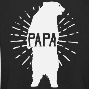 Papa Bear Father's Day - vatertag - Kinder Premium Langarmshirt