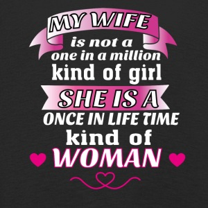 My Wife is One in Lifetime Kind of WOMAN - Kids' Premium Longsleeve Shirt