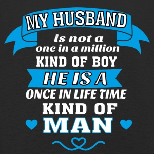 My Husband is One in Lifetime Kind of MAN - Kids' Premium Longsleeve Shirt