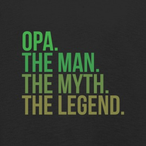 granny opa the man - Kinder Premium Langarmshirt