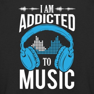 I Am Addicted To Music - Kids' Premium Longsleeve Shirt