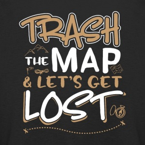 Trash the map and lets get lost - Kids' Premium Longsleeve Shirt