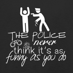 The police do not look so funny - Police - Kids' Premium Longsleeve Shirt