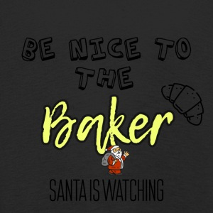 Be nice to the baker because Santa is watching - Kids' Premium Longsleeve Shirt