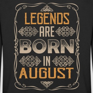 Legends August birthday - Kids' Premium Longsleeve Shirt