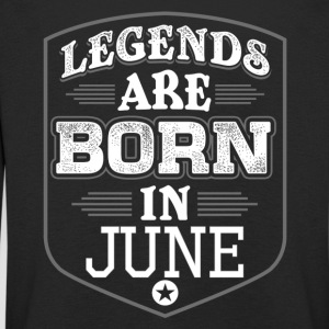 Legends June birthday - Kids' Premium Longsleeve Shirt