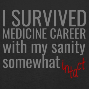 Doctor / Physician: I Survived Medicine Career with my - Kids' Premium Longsleeve Shirt