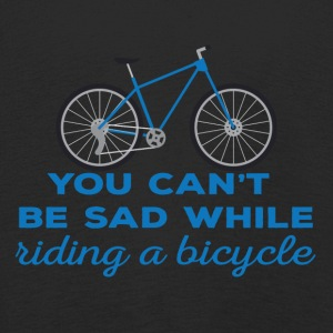 Bike: You can't be sad while riding a bicylce. - Kids' Premium Longsleeve Shirt
