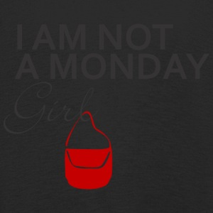 IAM NOT A MONDAY GIRL - Kinder Premium Langarmshirt