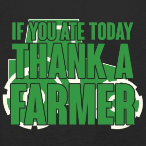 Farmer / Farmer / Farmer: If you ate today, thank - Kids' Premium Longsleeve Shirt