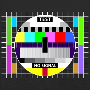 Testbild Display screen test card signal Big Bang - Kinder Premium Langarmshirt