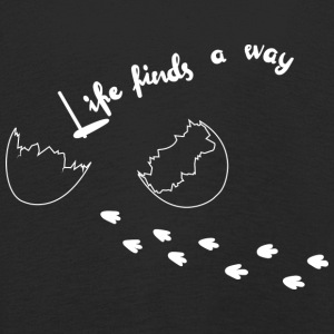 Life Finds A Way - T-shirt manches longues Premium Enfant
