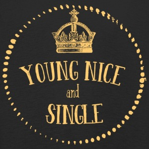 Young Nice and SINGLE - Kids' Premium Longsleeve Shirt