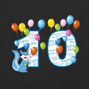 Tenth birthday squirrel 10 years - Kids' Premium Longsleeve Shirt