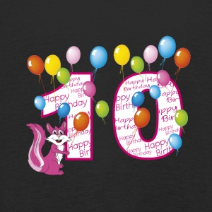 Tenth birthday 10 years squirrel - Kids' Premium Longsleeve Shirt