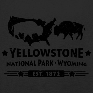 Buffalo Bison Buffalo Yellowstone National Park USA - Premium langermet T-skjorte for barn