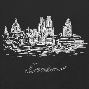 London City - Storbritannien - Långärmad premium-T-shirt barn