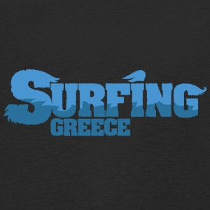GREECE Surfing Country Water - Kids' Premium Longsleeve Shirt