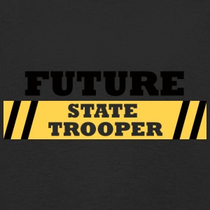 Politiet: Future State Trooper - Premium langermet T-skjorte for barn