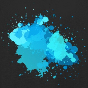Watercolor Splash - Kinder Premium Langarmshirt