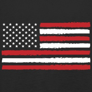 USA! Amerika! Flagga! Stars and Stripes! Patriot! - Långärmad premium-T-shirt barn