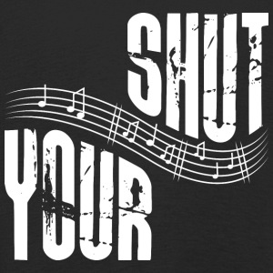 Shut your music - Kids' Premium Longsleeve Shirt