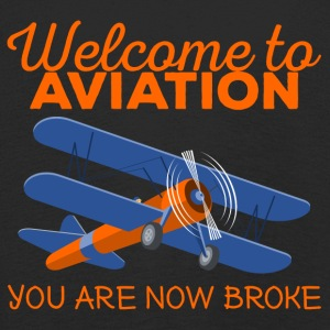 Pilot: Welcome to Aviation. You are now broke. - Kinder Premium Langarmshirt