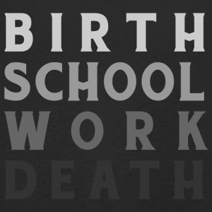 Birthwork School Death - Kids' Premium Longsleeve Shirt