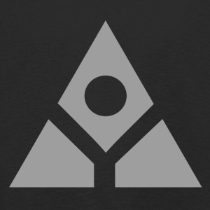 Sacred geometry gray pyramid circle in balance - Kids' Premium Longsleeve Shirt