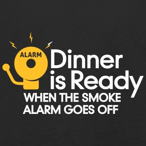 Dinner Is Ready When The Smoke Alarm Is Ringing - Kids' Premium Longsleeve Shirt