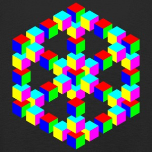 Optical illusion! - Kids' Premium Longsleeve Shirt