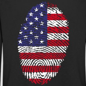 Fingerprint - USA - Kids' Premium Longsleeve Shirt
