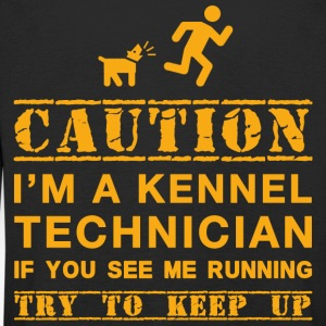 Attention Kennel Technicien - T-shirt manches longues Premium Enfant