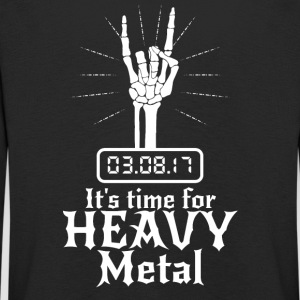 It's Time for Heavy Metal - Kids' Premium Longsleeve Shirt