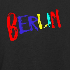 Berlin font colorful - Kids' Premium Longsleeve Shirt