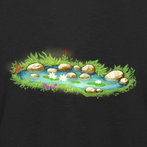 Garden Pond Pond Water Plants - Kids' Premium Longsleeve Shirt