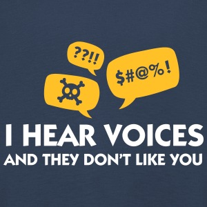 I Hear Voices And They Do Not Like You! - Kids' Premium Longsleeve Shirt