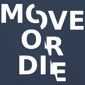 move or die - Kinder Premium Langarmshirt