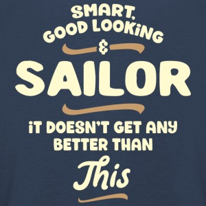 Smart, good looking and SAILOR... - Kinder Premium Langarmshirt
