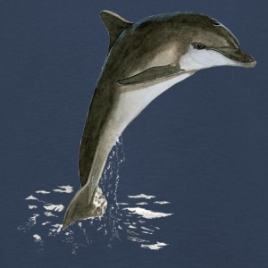 Tursiops_truncatus - Långärmad premium-T-shirt barn