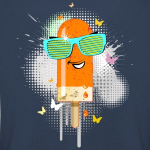 Eis am Stiel ice lolly ice cream Sommer Gelato süß - Kinder Premium Langarmshirt